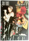 Guns N'Roses - 'Axl on Stage' Postcard